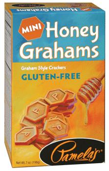 Love With Food February 2016 Box Spoiler - Pamelas Mini Honey Grahams