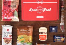 Love With Food January 2016 Tasting Box Review - Box Contents