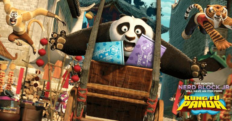 Nerd Block Jr. February 2016 Box Spoiler - Kung Fu Panda