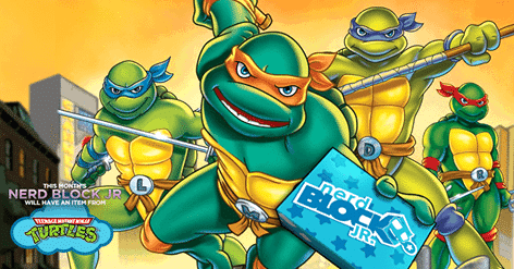 Nerd Block Jr. February 2016 Box Spoiler - Teenage Mutant Ninja Turtles