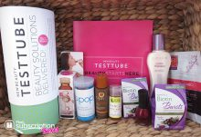 NewBeauty TestTube November 2015 Box Contents