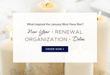 POPSUGAR Must Have Box January 2016 Box Inspiration