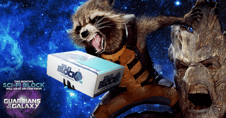 Sci-Fi Block February 2016 Box Spoiler - Guardians of the Galaxy