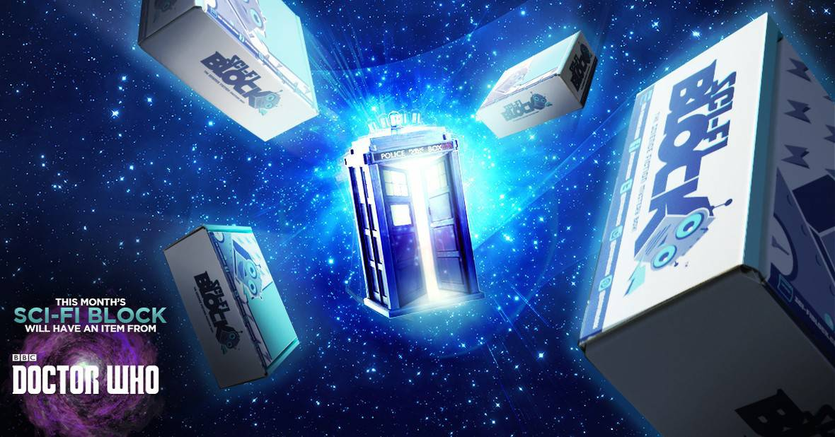 Sci-Fi Block January 2016 Box Spoiler - Doctor Who