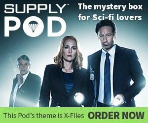 Supply Pod January 2016 Box Theme - X-Files