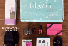 Winter 2015 FabFitFun VIP Box Review - Box Contents