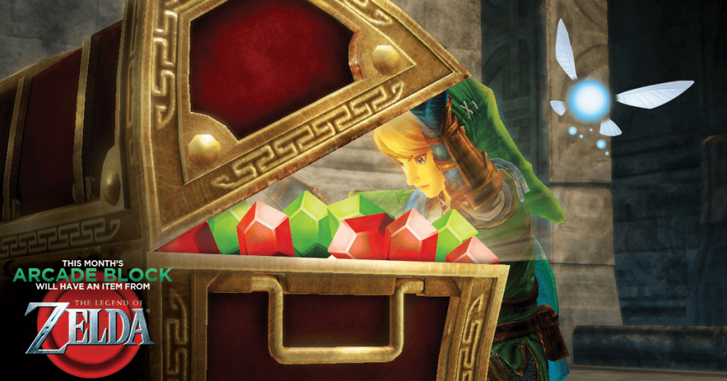 Arcade Block February 2016 Box Spoiler - Zelda