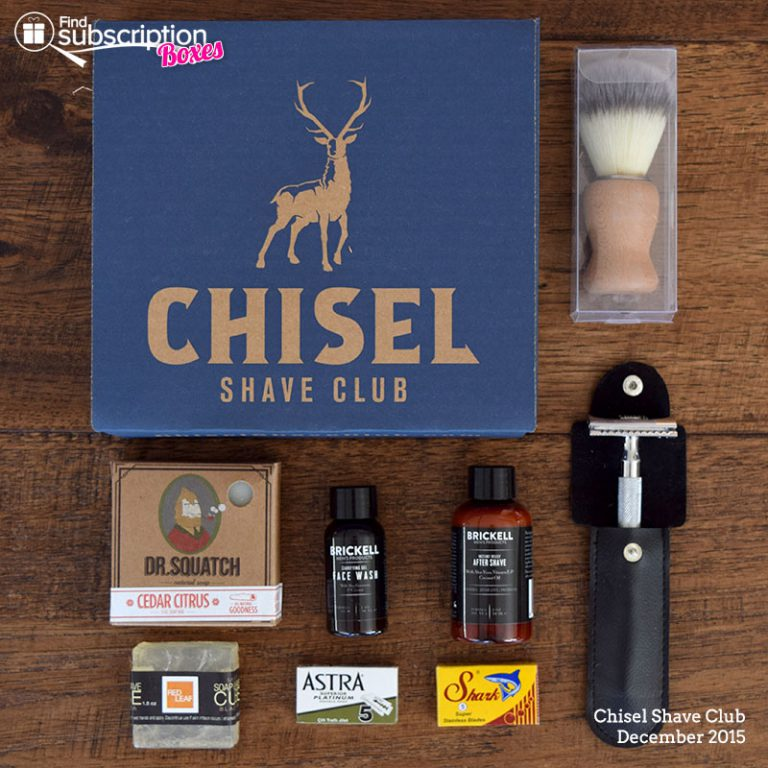Chisel Shave Club Review - Box Contents