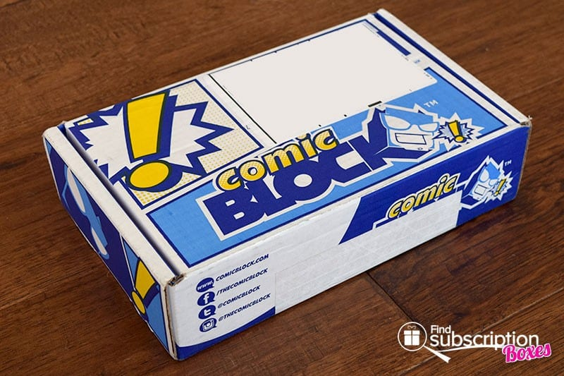 Comic Block January 2016 Box Review - Box