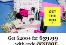 FabFitFun Coupon 10 Off Welcome Box