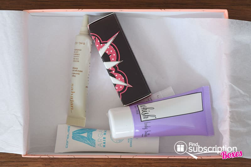 February 2016 Birchbox Review - First Look