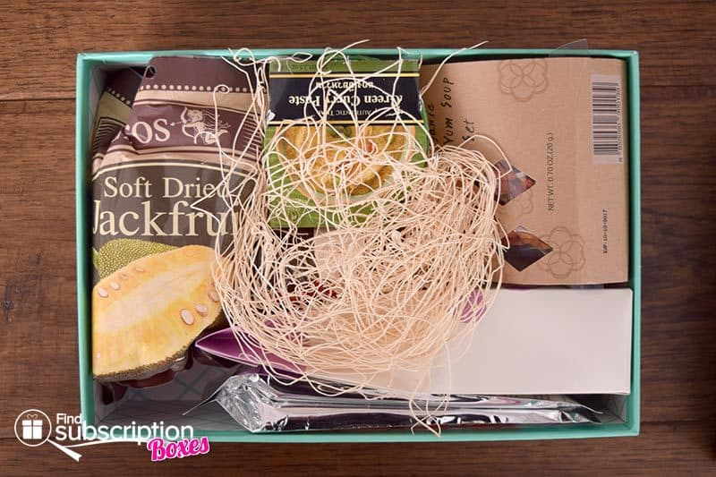 February 2016 Try The World Review - Thailand Box - First Look