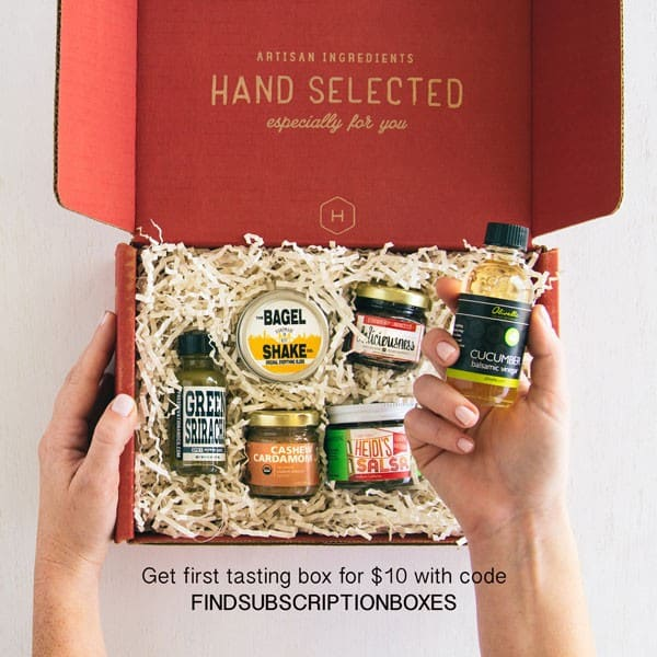 Discover new flavors from across the country with Hatchery. Get your 1st Hatchery Box for just $10 + FREE shipping with our exclusive Hatchery Box coupon code – a 50% savings!Enter promo code FINDSUBSCRIPTIONBOXES at checkout to save $10 off your 1st box!. Each Hatchery Box delivers small-batch ingredients and condiments right to your kitchen each month.