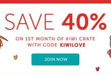 Kiwi Crate Coupon 40% Off
