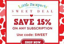 Little Passport Valentine's Day Sale