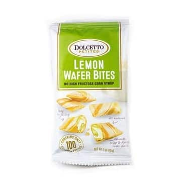 Love With Food March 2016 Box Spoiler - Dolcetto Lemon Wafer Bites