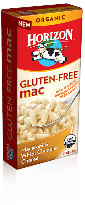 Love With Food March 2016 Box Spoiler - Horizon Gluten-Free Mac & Cheese
