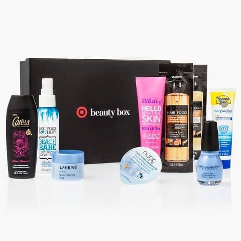 March 2016 Target Beauty Box
