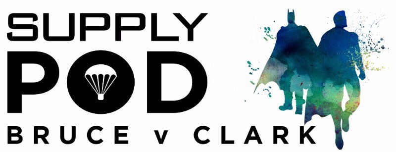 Supply Pod March 2016 Box Theme - Bruce v Clark