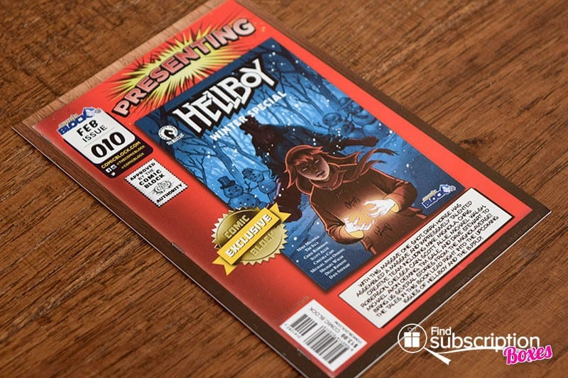 Comic Block February 2016 Box Review - Product Card