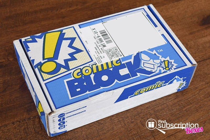 Comic Block February 2016 Box Review - Box
