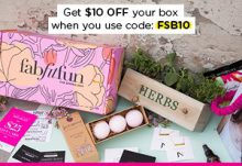 EXCLUSIVE FabFitFun Coupon - Save $10