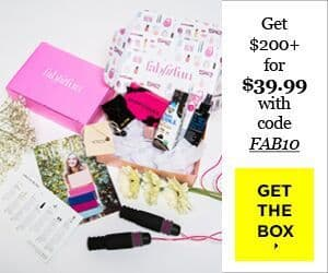 FabFitFun Coupon - $10 Off