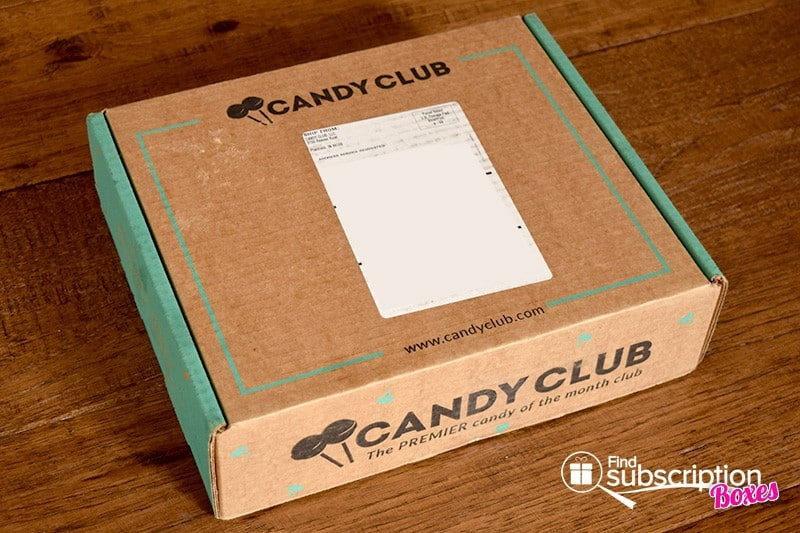 February 2016 Candy Club Review - Box