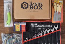 February 2016 The Handy Box Review - Box Contents