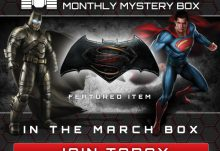 Geek Fuel March 2016 Box Spoiler - Batman v Superman
