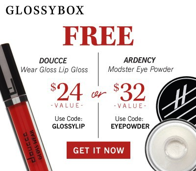 GLOSSYBOX Coupon March 2016 Free Gift