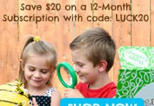 Green Kid Crafts $20 Off St Patrick's Day