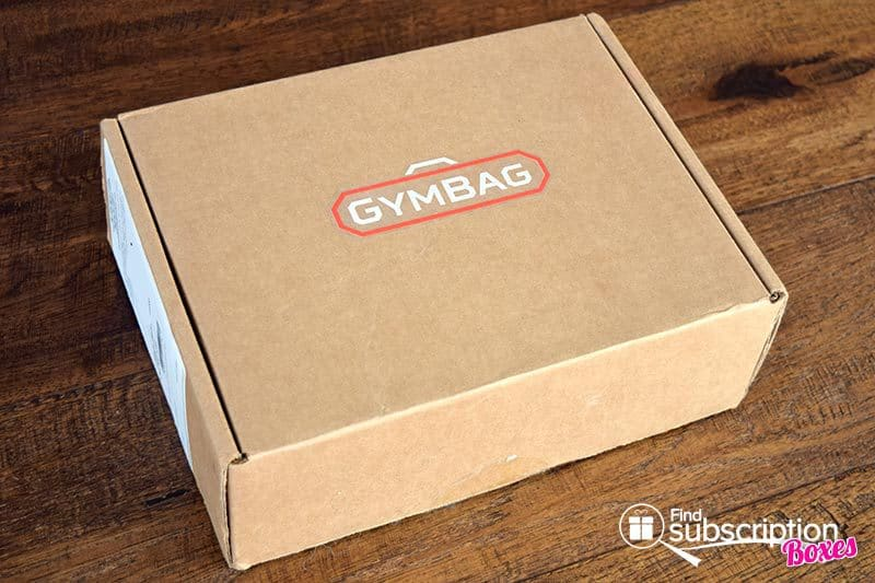 January 2016 GymBag Review - Box
