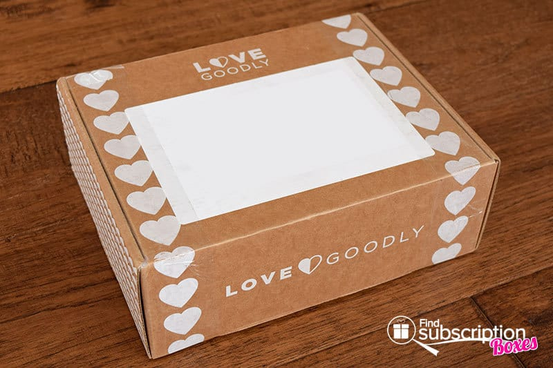 LOVE GOODLY Review - February-March 2016 - Box