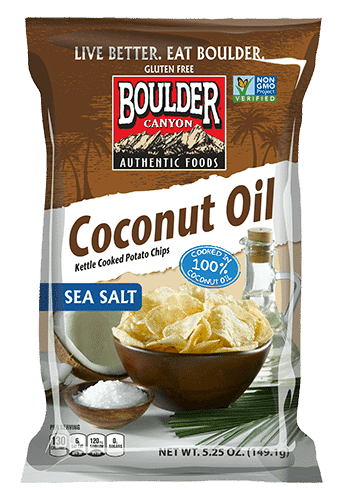 Love With Food April 2016 Box Spoiler - Boulder Canyon Coconut Oil Chips