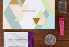 March 2016 Birchbox Review - Box Contents