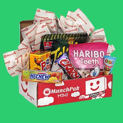 MunchPak Mini Snack Subscription Box