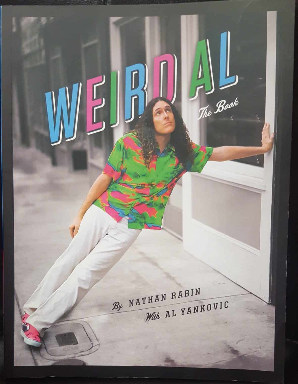 Nerd Block April 2016 Box Spoiler - Weird Al The Book