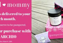 Pampered Mommy Box Coupon