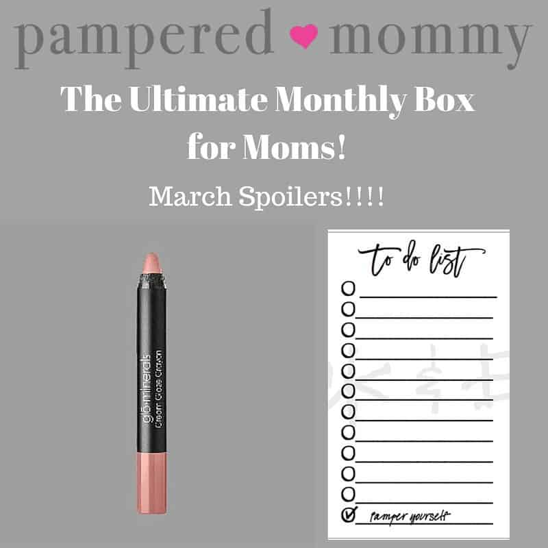 March 2016 Pampered Mommy Box Box Spoilers