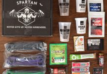 February 2016 Spartan Carton Review - Box Contents