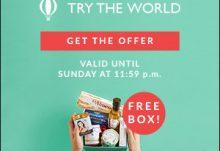 Try The World Free Paris Box