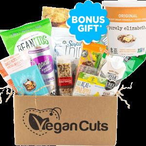 Vegan Cuts March 2016 Snack Box Bonus Gift