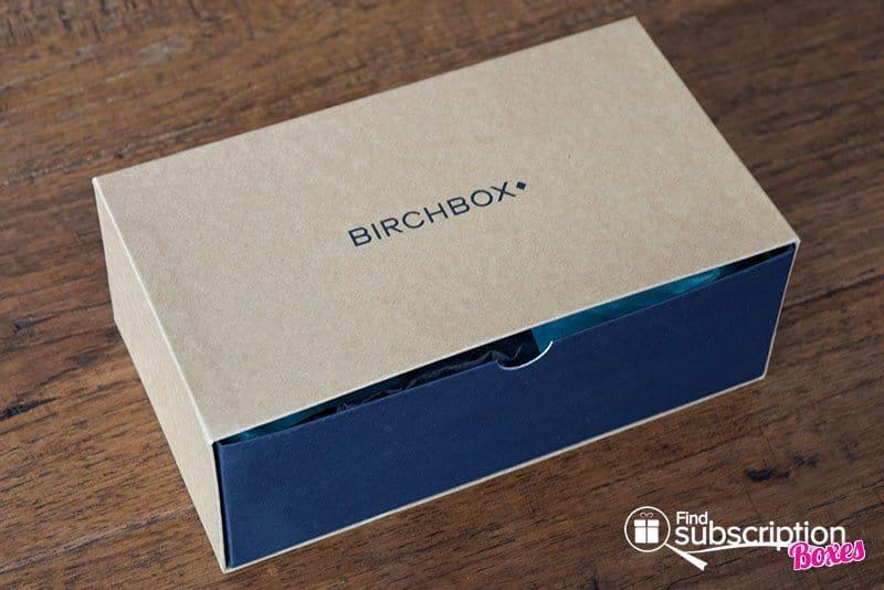 April 2016 Birchbox Man Review - Box