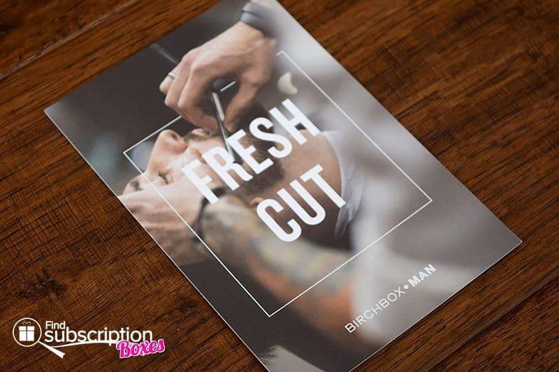 April 2016 Birchbox Man Review - Product Card