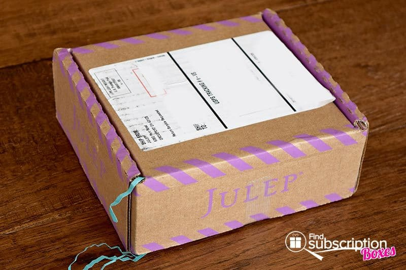 April 2016 Julep Maven Review - Box