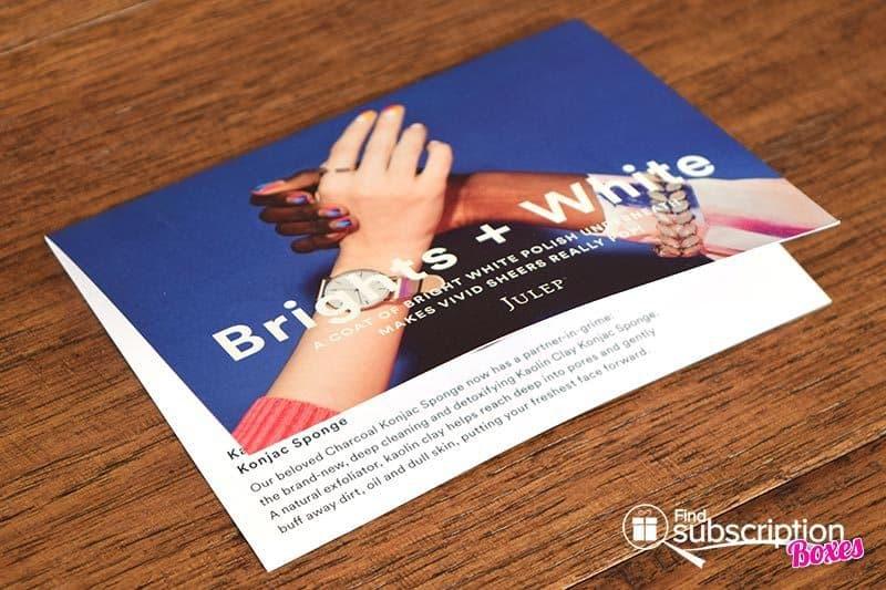 April 2016 Julep Maven Review - Card