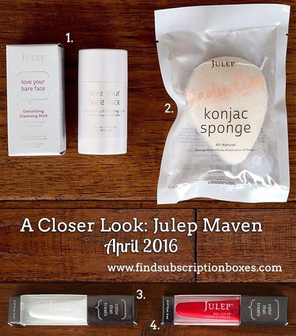 April 2016 Julep Maven Review - Inside the Box
