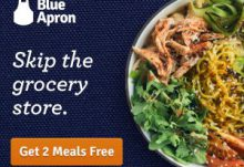Blue Apron Coupon - 2 Free Meals