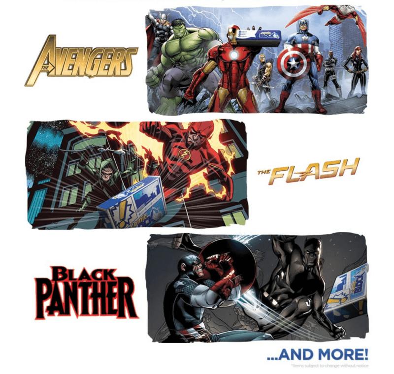 Comic Block April 2016 Box Spoilers